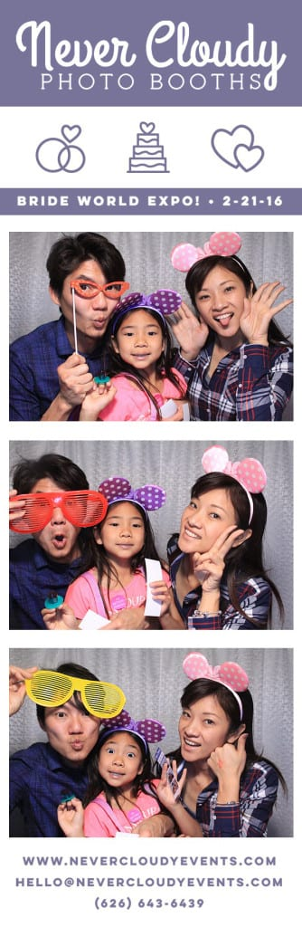 Family Photo Booth at Bride World