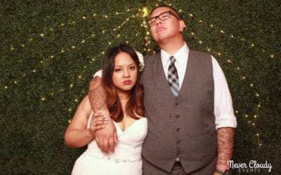 Photo Booth at Andrea & Karlo's Wedding – Finally!