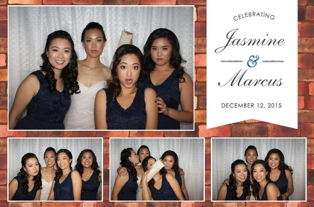 Photo Booth at the Carondelet House for Jasmine and Marcus's wedding